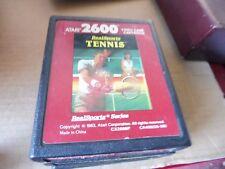 jeu tennis real sport  Atari 2600