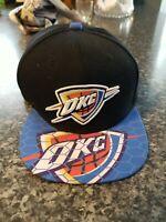 Oklahoma City Thunder OKC Mitchell & Ness Snapback Hat Cap - Hardwood Classics
