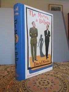 David Niven. 'THE MOON'S A BALLOON'  Folio Society Edition 2009.