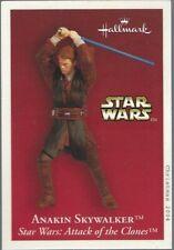 Star Wars Anakin Skywalker Aotc Hallmark Keepsake collector card (2004)