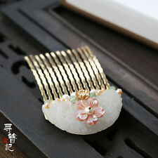 High Quality Chinese Classical Women Hairpin Hair Comb Accessories Step Shake