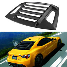 Rear Window Louvers Sun Shade GT Lambo Style For Subaru BRZ Toyota 86 Scion FR-S