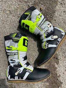 Gaerne Classic White/Yellow/Black Trials Boot EU47