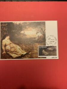 """1981  -  $2 McCubbin's """"ON THE WALLABY TRACK"""" painting - Maxi Card [1v]  XY2"""