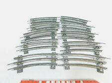 aj918-1 #10x MÄRKLIN escala 0 Separador CURVO 8ER con conductor Medio