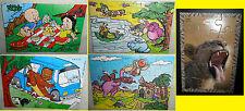 Lotto 5 Puzzle KINDER varie collezioni anni '90 / 2010 - WARNER BROS - ANIMALI