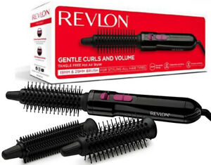 Revlon Tangle Free Hot Air Styler Brush for Gentle Curls and Volume 250W