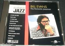 BILL EVANS THE ROMANTIC JAZZMAN  CD LES GENIES DU JAZZ / V