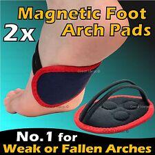 2x Magnétique Pieds Arch Support Faible & Pieds Plats Aponévrosite Plantaire