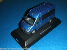 Mercedes Benz W 906 sprinter combi/Crew autobús Facelift 2013 azul/Blue 1:43neu/new