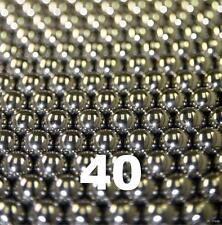 40 Milton Bradley Crossfire Game Replacement Steel Balls