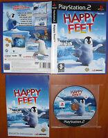 Happy Feet 1, PlayStation 2, PS2, PStwo, Pal-España en Castellano ¡¡COMPLETO!!