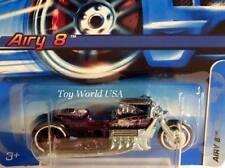 2006 Hot Wheels #164 Mainline Car Airy 8 purple