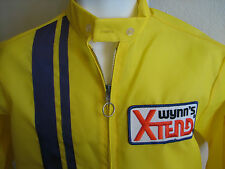 Wynn's Xtend car engine products official racing jacket 1960s vintage new unused
