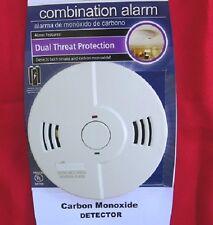 CARBON MONOXIDE & SMOKE DETECTOR ALARM, 3- AA Batteries