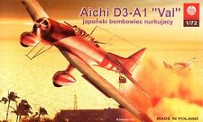 AICHI D3A-1 VAL 'PEARL HARBOR' (JAPANESE NAVY MARKINGS) 1/72 PLASTYK