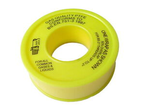 Gas PTFE Tape Extra Thick Thread Seal Tape For All Common Gases & Liquids