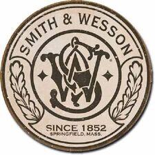 SMITH & WESSON Metal Revolver Gun Ammo Rifle Pistol Safe Man Cave Ammunition NEW