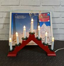 Vintage Christmas Noma Advent Candle Pyramid