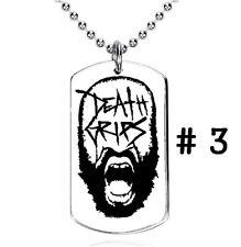 Death Grips, experimental hip hop, RNB,punk,B - Colgante, Dog Tag, Placa militar