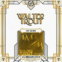 WALTER TROUT - FACE THE MUSIC-25TH ANNIVERSARY SERIES LP 10 2 VINYL LP NEW