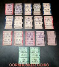 28 VINTAGE 1945 to 1974 HOLLYWOOD PARK HORSE RACING  BETTING TICKETS $2 to $50