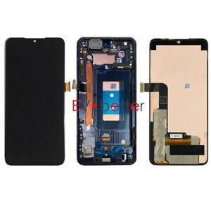 OLED For LG G8X ThinQ LMG850 LM-G850 LCD Display Touch Screen Digitizer ± Frame