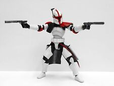 "Custom 1/18 Microman DLX Clone Captain Fordo ARC Trooper Star wars 4"" Figure"