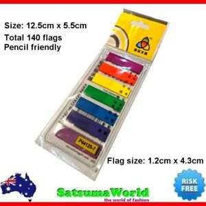 Cute Post-It Page Marker Sticky Note folders Flags Office School Stationery New
