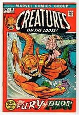 Marvel CREATURES ON THE LOOSE #18 - Kane Cover- VF 1972 Vintage Comic