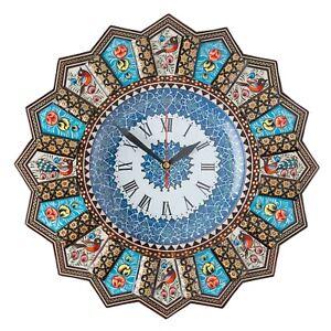 LPUK Luxury Khatam Wall clock, Sun clock Collection Series 1 Persian Handcrafted