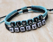 Always Forever Couples Bracelet His Hers Friendship Bracelet Anniversary Gifts
