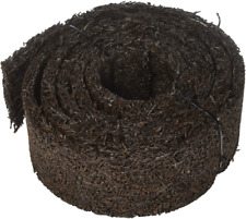 Recycled Rubber Permanent Garden Mulch Border Patio Lawn Gardening Care Black