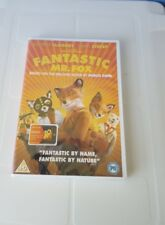 New, Fantastic Mr. Fox, Roald Dahl, Childrens (PG) DVD, *PAL Region 2 *