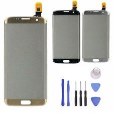 Für Samsung Galaxy S7 Edge G935 Display Touchscreen Glas Gold + Werkzeug RHDE