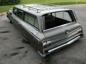 1961, 1962, 1963, 1964 CHEVY WAGON SIDE BLINDS LEFT AMD RIGHT ONLY *SALE*