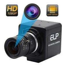 2.0Mp Usb Camera H.264 Cctv Sony Imx322 2.8-12mm Varifocal Lens Webcam with Usb