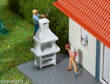 2 GIARDINO GRILL, Faller Modello Kit di costruzione Miniature H0 (1:87), art.