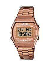 Orologio CASIO Unisex B640WC-5AEF Acciaio PVD oro rosa dorato bronzo Vintage