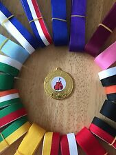 10x Boxing Medals 50mm Choice of ribbons  Great value!! Bulk Buy Great Quality