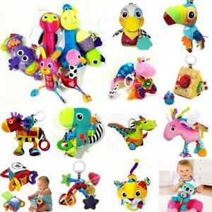 Various Baby Child Kid Crib Stroller Play Mat Gym Sensory Soft Toy Gift Doll 0+