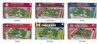 NCAA Checkers Board Game by Masterpieces Puzzles -Select- Team Below