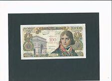Bonaparte 100 NF sur 10 000 francs. rare et recherché !