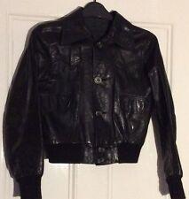 Unbranded Men's Biker Waist Length Button Coats & Jackets