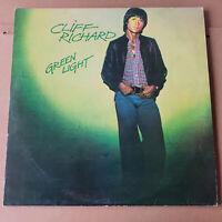 Cliff Richard - Green Light LP  with lyric sheet inner sleeve