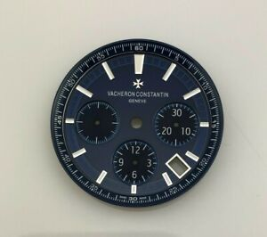 Vacheron Constantin 2000s OVERSEAS Chronograph Blue Auto Mens 33.5mm Dial 1