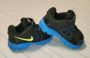 BABY Boys NIKE Revolution SIZE 3.5C 3.5 TODDLER SHOES ATHLETIC SNEAKERS  Black