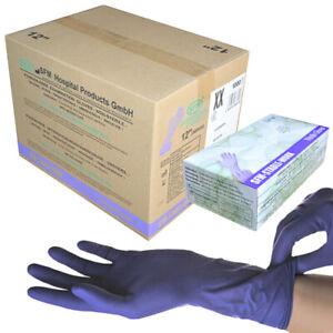 SFM ® STABLE WORK : Nitril LANG puderfrei ACC-frei Einmal Einweg Handschuhe 1000
