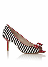 Dune Women's Striped Heels