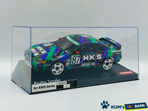 Kyosho MINI-Z Body HKS SKYLINE (R32 GT-R) 1993 #87 MZP449HK FINE HAND POLISH